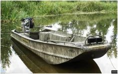 Watching too much Swamp People, startin' to want this boat.