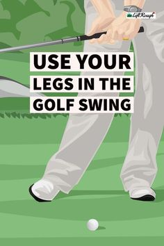 Often overlooked and forgotten, but incorrect use of the legs and bad footwork could be what's holding back your golf swing. Golf Handicap, Golf Club Grips, Golf Putting Tips, Golf Chipping, Chipping Tips, Golf Instruction, Golf Exercises, Golf Tips For Beginners, Perfect Golf