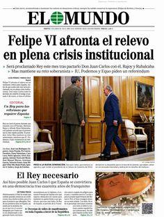 Felipe VI en plena crisis institucional