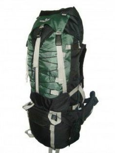 7000 Cubic inch Green Alpine Trekking Hiking Climbing Camping Backpack Gear  New  cf30c1f3f398e