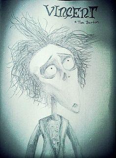 #timburton #vincent #drawing