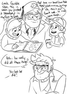 owlapinart:  stan learns about himself and ford learns about his brother