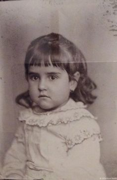 Rare and Beautiful Portrait of Young Frida Kahlo by Her Father Guillermo Kahlo