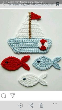 crochet applique Amigurumi toy animal knitting models are both the most popular and one of the most knitted knitting models. Choose from hundreds of free knitting models and start kni Crochet Applique Patterns Free, Crochet Animal Patterns, Crochet Blanket Patterns, Baby Knitting Patterns, Crochet Motif, Crochet Flowers, Crochet Stitches, Scarf Patterns, Knitting Tutorials