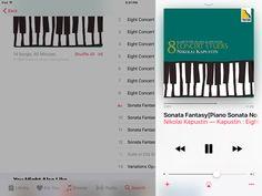 Piano sonata fantasy Op.39 No.1 vivace