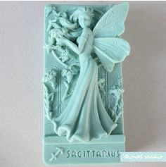 116x71x40mm high quality silicon flower fairy soap mold, fairy wings soap mold mould,sagittarius soap mold
