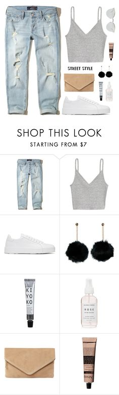 """Street Vibe"" by cyberqueenn ❤ liked on Polyvore featuring Hollister Co., H&M, Jil Sander, Herbivore, MR., Aesop and Fendi"
