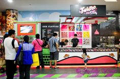 Watch them make candies at Twisted Candy at the The Block, SM City North EDSA! City North, Day, Candies, Heaven, Watch, Sky, Clock, Heavens, Bracelet Watch