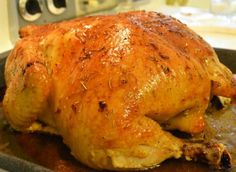 ESBS: Lemon & Rosemary Roasted Chicken | The Realistic Nutritionist