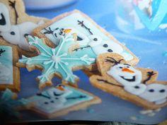 dolci per bambini - biscotti di frozen -