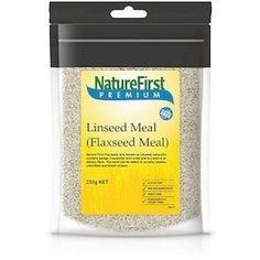 Natures First Linseed Meal 250g - http://www.veggiemeals.com.au/shop/grocery/natures-first-linseed-meal-250g/ #250G, #First, #GroceryGtGrainsNutsAndSeeds, #Health, #Linseed, #Meal, #NatureS, #Products #veggiemeals #vegetarian