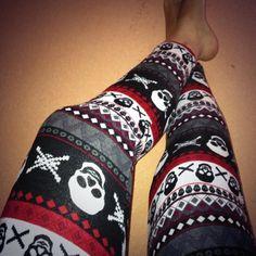 Skull leggins <3