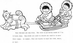 Inuit And Their Husky Dogs Coloring Page : Coloring Sky Dog Coloring Page, Coloring Pages For Kids, Coloring Sheets, Used Kayaks, Picture Templates, Cycle 3, Online Coloring, Have Some Fun, Wood Burning