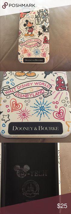 Dooney & Bourke Disney iPhone 4s case Sketch print Disney Dooney & Bourke IPhone 4s case by DTech matches Disney Dooney purses still sold at parks and online. Dooney & Bourke Accessories Phone Cases