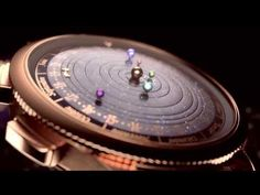 Van Cleef & Arpels Complication Poetique Midnight Planetarium Watch - a watch cant be more beautiful...