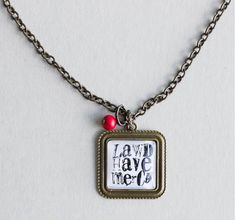 Lawd Have Mercy necklace by Plunder Design $$18  Fierce, Brave Girls, Mother's Day, Teacher Appreciation, ThankYou Gifts, Inspirational