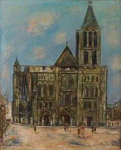Basilica of St. Denis - Maurice Utrillo, unknown date