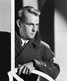 Alan Ladd; 1940s......Uploaded By www.1stand2ndtimearound.etsy.com