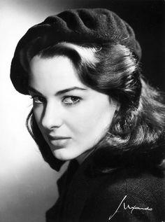 Eleonora Rossi-Drago (1925-2007) - Italian film actress. Photo 1960 by Elio Luxardo