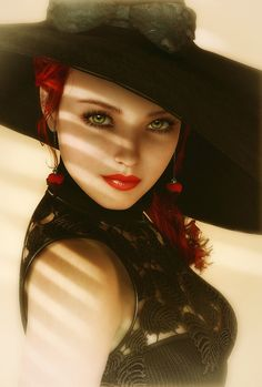 They say it is difficult to find a proper hat to set the right mood, I never seem to have that problem!