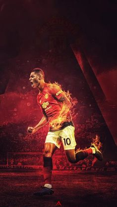 Football graphic walls created a freelance graphic designer from Poland. Manchester United Wallpaper, Manchester United Images, Manchester United Players, Cristiano Ronaldo Celebration, Pogba, Marcus Rashford, Best Football Team, Football Design, Club Design
