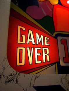 Tippy ' s Arcade is closed for the evening......game over kids, Lady T.