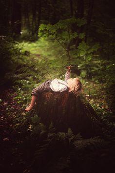Little Daydreamer by Glazastik Finch