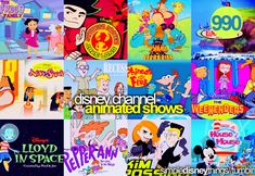 I used to watch these shows , they don't make shows like they did back in the 80s and 90s with the exception of Phineas and Ferb and the early 2000s :]