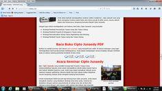 Gratis buat kamu tentang Buku Cipto Junaedy Ebook  yang bener bener bener Hebat dan SUPER ... Baca aja ama loe ini >  Harga Seminar Cipto Junaedy Strategi membeli properti tanpa uang, Ngak sebanding dengan Otak Loe YANG BAKALAN jadi makin Cerdas das das das  !!!