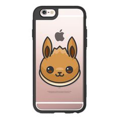 Pokemon Go Evee - iPhone 6s Case,iPhone 6 Case,iPhone 6s Plus... ($40) ❤ liked on Polyvore featuring accessories, tech accessories and iphone case