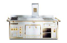 Cuisinière électrique / à bois / à gaz / mixte - THE MOLTENI RANGE COOKER - Electrolux Grand Cuisine