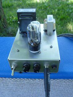 Tube amp: vintage inspried vacuum tube amplifier for guitar.