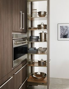 Pull Out Pantry #kitchen