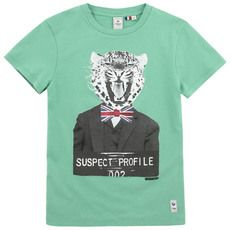 Japan Rags - Green T-shirt (153230 - 175700) - 65854