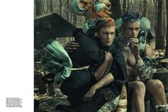 Wild Is The Wind by Steven Meisel | Design Scene - Fashion, Photography, Style & Design