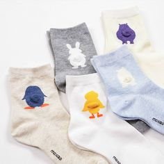 2017 Women Girl Cute Animal Cotton Crew Socks 3D Tail Kawaii Duck Rabiit Bear Penguin Harajuku Funny Cheap Novelty Art Ankle Sox