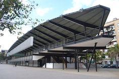 Canòdrom Meridiana,Barcelona,Premio FAD.Arquitecto Antonio Bonet.1960-62