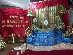 jueves santos altares en dominicana | Monumento. Parroquia La Milagrosa. Padres Paúles. Ciudad Bolívar ...