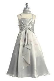 flower girl dresses silver color - Google Search