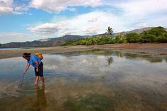 Fishing for Clams in Timor-Leste