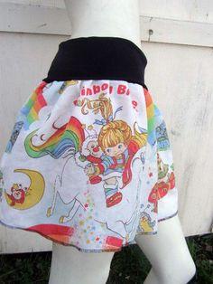 #PoppysWickedGardenArtfire on Artfire               #Skirt                    #RAINBOW #BRITE #TuTu #Skirt #S-XL #made #with #vintage #rupurposed #fabric   RAINBOW BRITE TuTu Skirt S-XL made with vintage rupurposed fabric                                       http://www.seapai.com/product.aspx?PID=963719