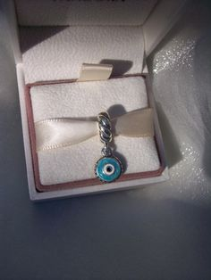 Authentic Pandora Watchful Eye Enamel Dangle by JEWELSELAGANT