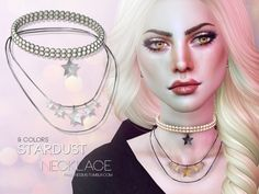 Stardust Necklace #Sims4