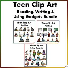 Teen Reading, Writing and Using Gadgets in Uniform Clip Arts Bundle Behavior Management Strategies, Reading Strategies, Classroom Management, School Resources, Teacher Resources, Classroom Resources, Teaching Ideas, Classroom Ideas, Classroom Displays
