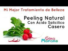 Peeling Natural Con Ácido Salicílico Casero - YouTube