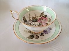 PARAGON-By-Appointment-English-Bone-China-Floral-Multicolor-Tea-Cup-amp-Saucer-Set