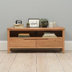 Beautiful Campbell Oak Large TV Stand - up to Free UK Delivery on all large tv stand orders. Living Room Wall Units, Living Room Furniture, Large Tv Stands, Entertainment Wall Units, Modern Wall Units, Tv Cabinets, Floating Nightstand, Furniture Design, Wooden Furniture