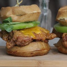 Chicken and waffle sandwiches are now a thing in Alphabet City