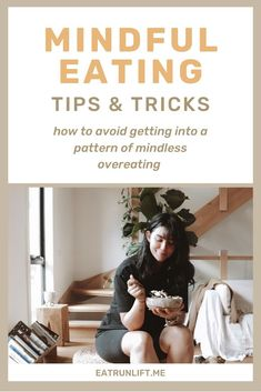 Below are 5 tips that I like to try and encourage my online coaching clients to try out which have a high success rate and can create more mindful eating patterns. Healthy Eating Habits, Keeping Healthy, Healthy Living, Weight Gain, Weight Loss, Eat And Run, Mindless Eating, Lose 100 Pounds, Health Diet