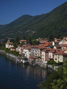 Cannero Riviera, Lake Maggiore, Verbano-Cusio Ossolo, Piedmont, Italy